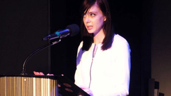 Me, public speaking.