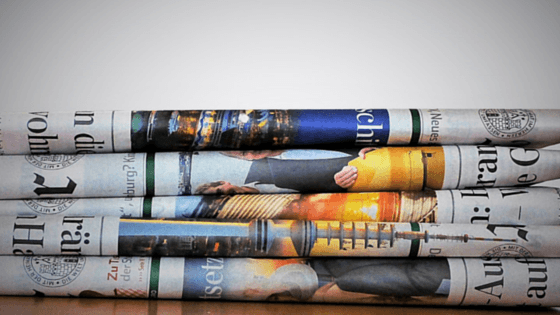 An effective and affordable way to market your book is through print media.