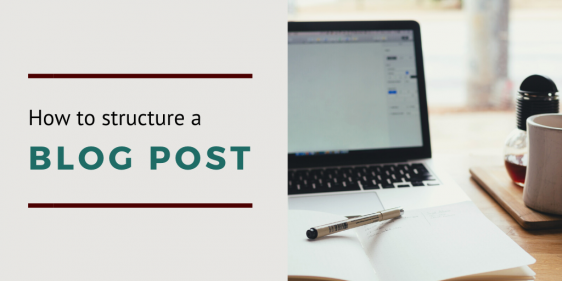 How to structure a blog post social share image