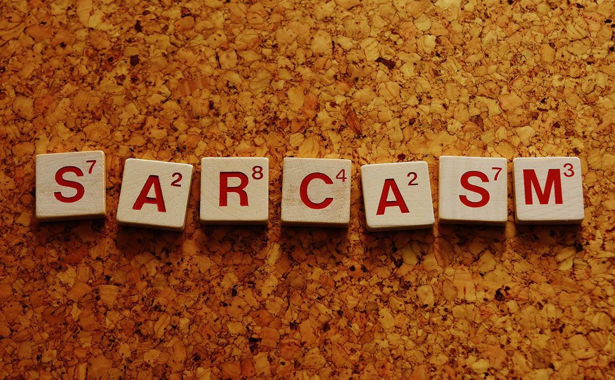 Discover how to write sarcasm.