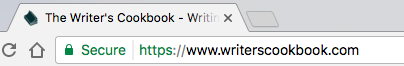 What you'll see when you visit a website with HTTPS.