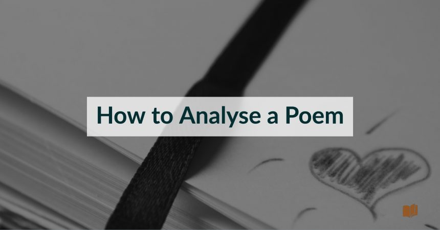 How to analyse a poem