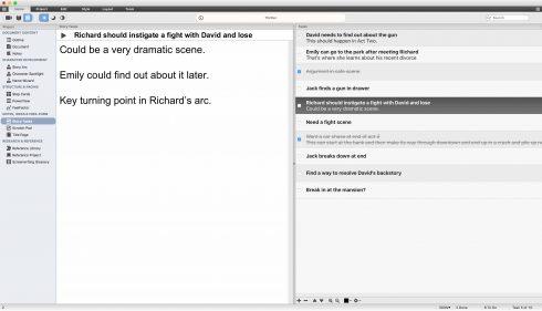 Script Studio's scratch pad.