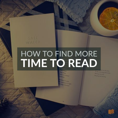 Want to read more but don't think you have the time? Here's what you need to do.
