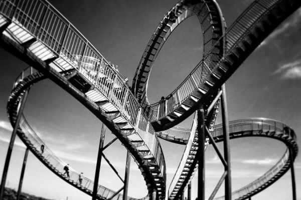 It's a rollercoaster submitting your novel to an agent...