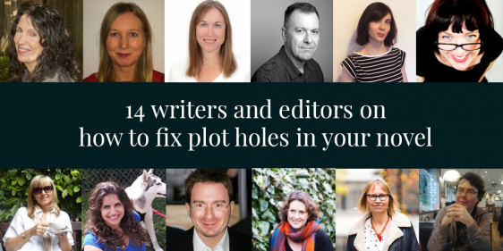 How to fix plot holes (from 14 writing experts)