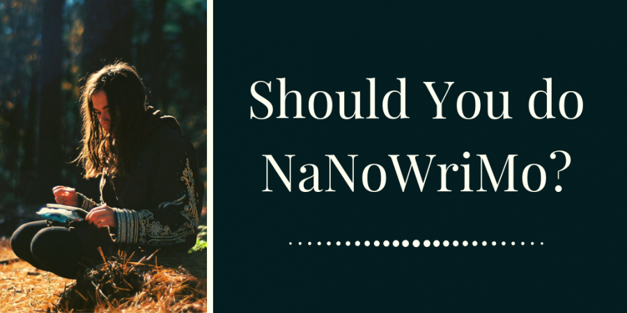 Should you do NaNoWriMo?