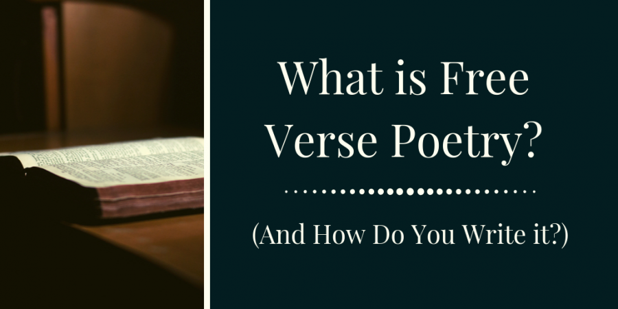 free verse is often used by poets to