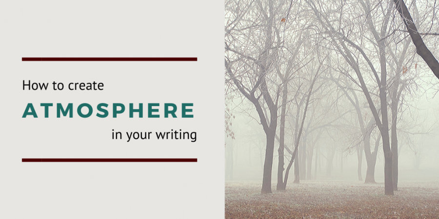 How to create atmosphere in writing social share image