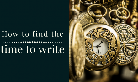 How to Find the Time to Write