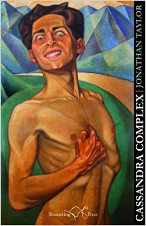 The cover of Jonathan's poetry collection, Cassandra Complex