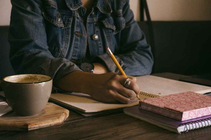 A solitary writer