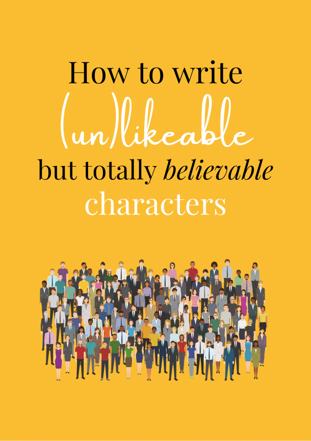How to write unlikable characters cover