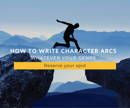 Join my how to write character arcs workshop