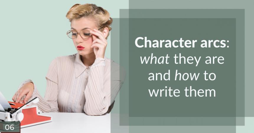 Character arcs social share image