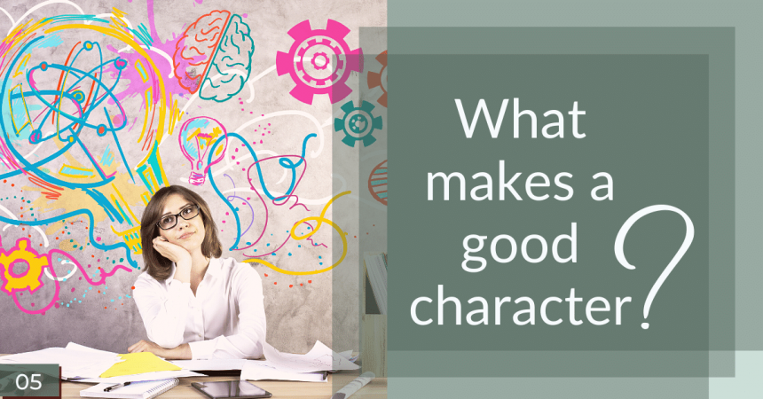 What makes a good character? Social share image