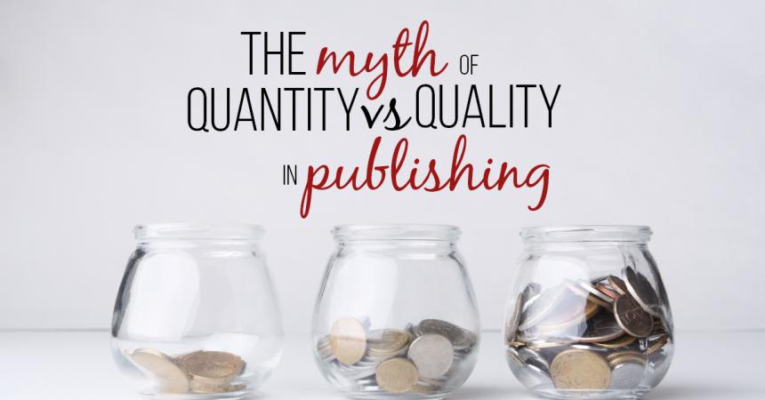 Quantity vs quality in publishing